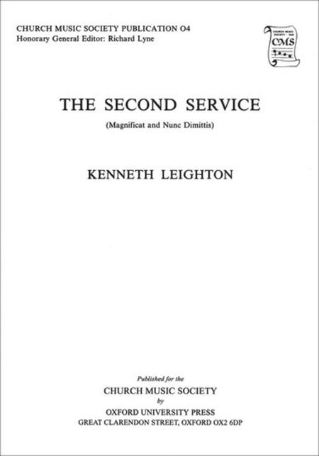 Magnificat and Nunc Dimittis from the Second Service