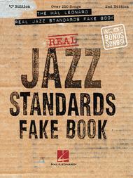 The Hal Leonard Real Jazz Standards Fake Book - C Edition