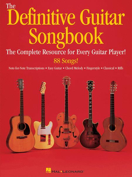 The Definitive Guitar Songbook