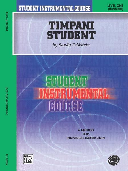 Student Instrumental Course Timpani Student