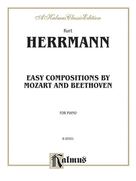 Easy Compositions by Mozart and Beethoven