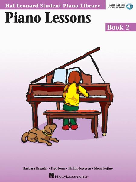 Piano Lessons Book 2 - Audio and MIDI Access Included