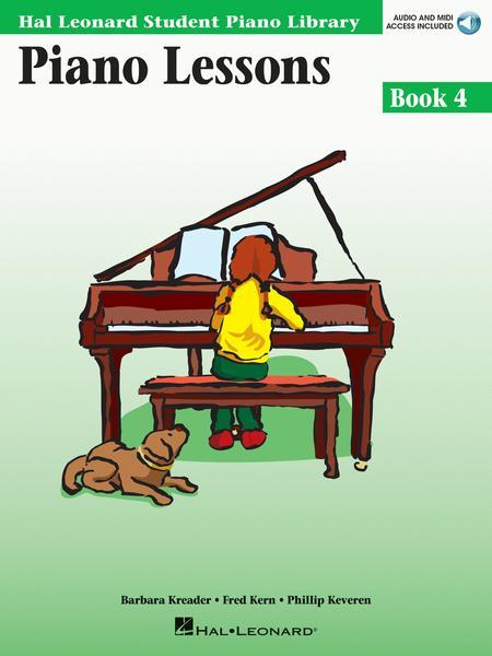 Piano Lessons - Book 4
