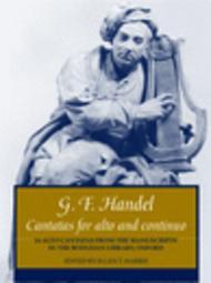 Cantatas for alto and continuo