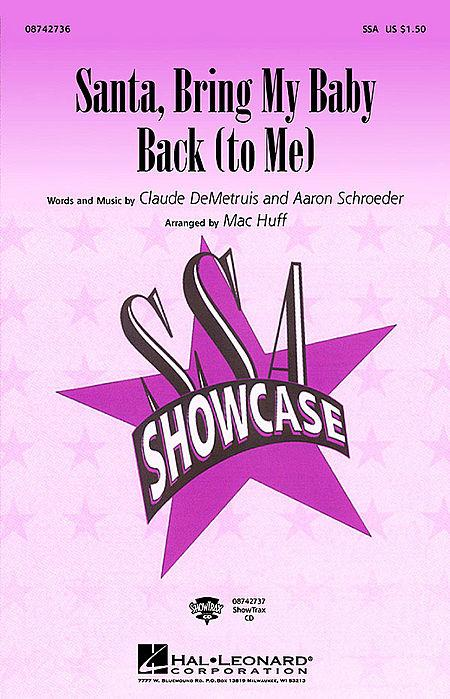 Santa, Bring My Baby Back (To Me) - ShowTrax CD