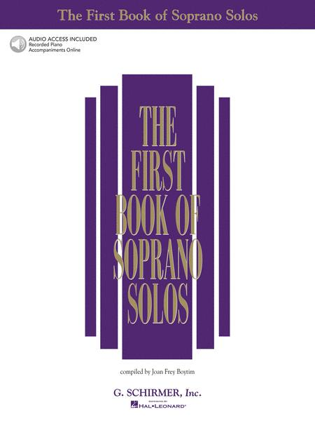 The First Book of Soprano Solos (Book/CDs)