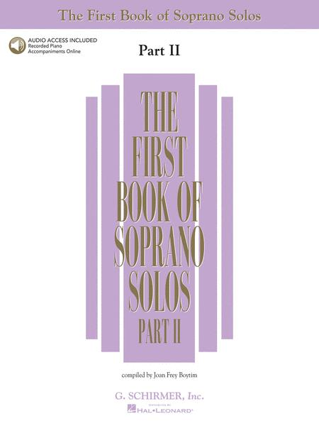 The First Book of Soprano Solos - Part II