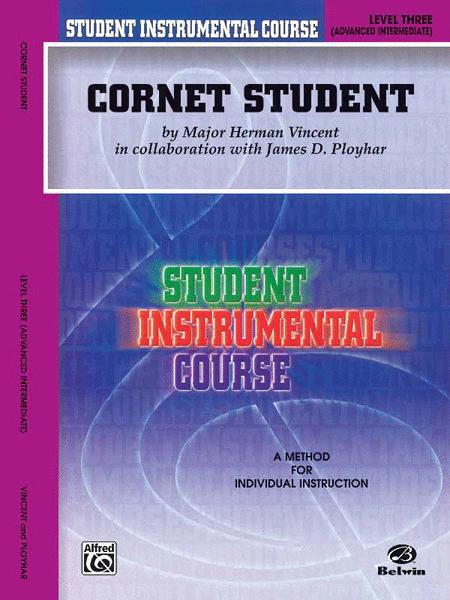 Student Instrumental Course Cornet Student