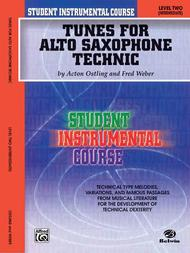 Student Instrumental Course Tunes for Alto Saxophone Technic