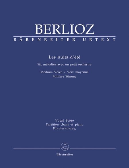 Les nuits dete for Solo Voice and Orchestra op. 7 Hol. 81B
