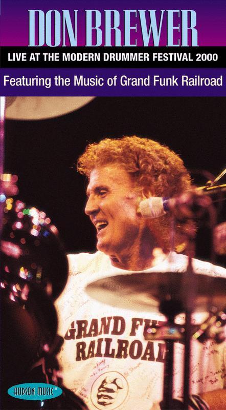 Don Brewer - Live at the Modern Drummer Festival 2000
