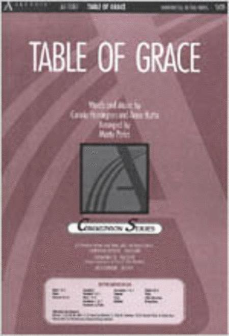 Table of Grace (Anthem)