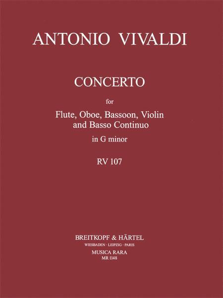 Concerto in G minor RV 107