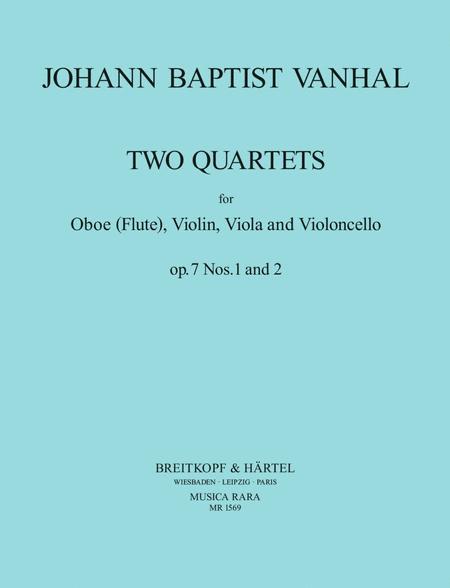 Quartett op. 7/1+2