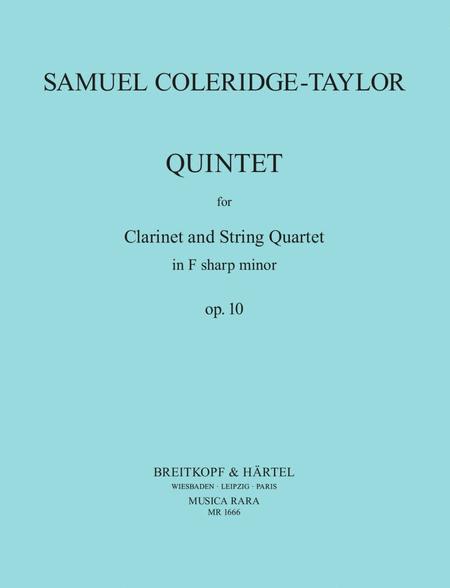 Quintet in F# minor Op. 10