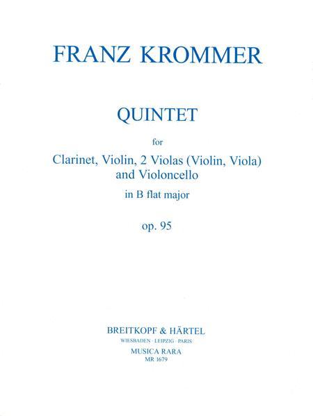 Quintett in B op. 95