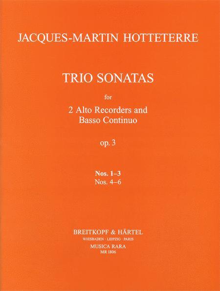 Triosonaten op. 3/1-3