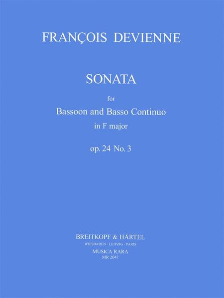 Sonata in F Op. 24 No. 3