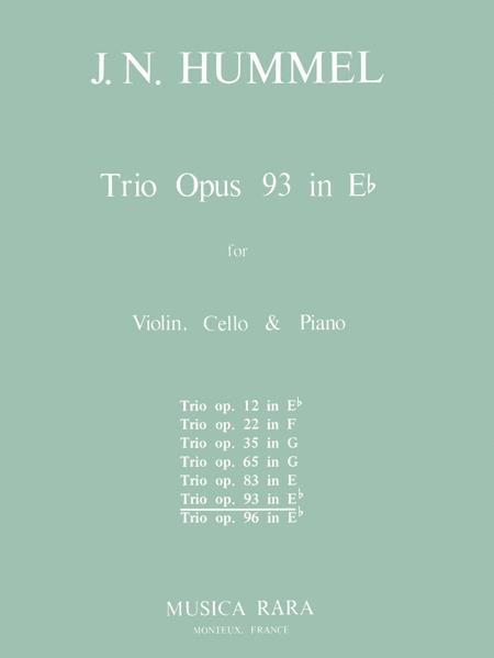 Klaviertrio Es-dur op. 93