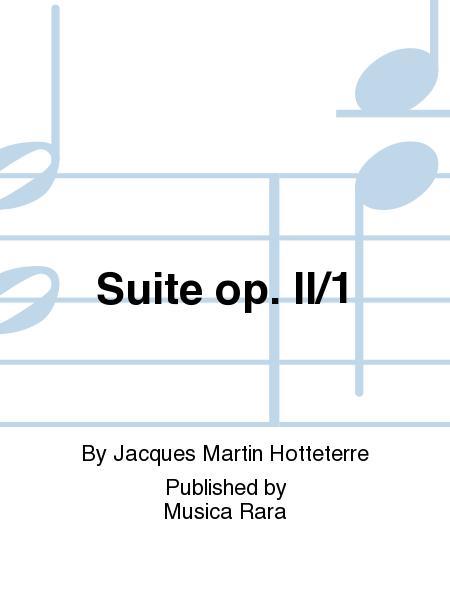 Suite in D major Op. 2 No. 1