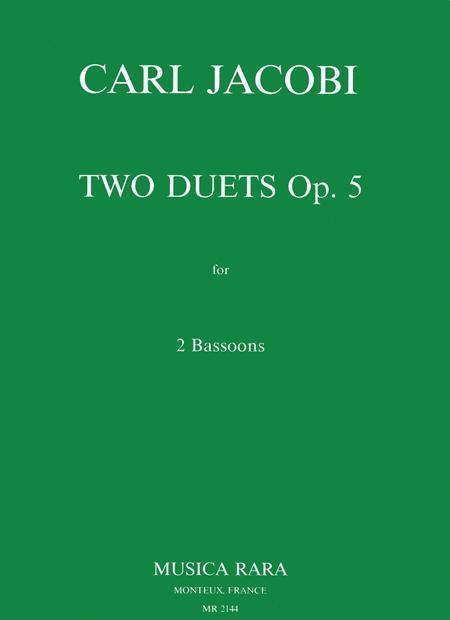 2 Duets Op. 5
