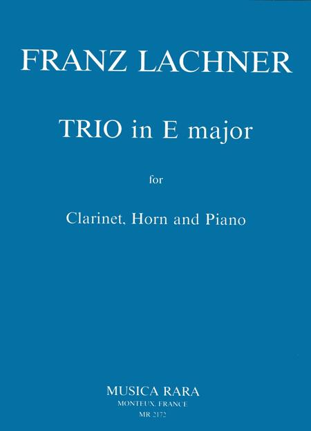Trio in E major