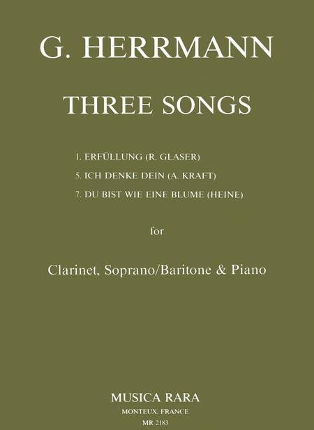 Drei Deutsche Lieder