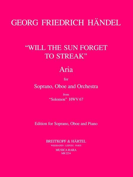 Arie 'Will the sun' (Salomon)