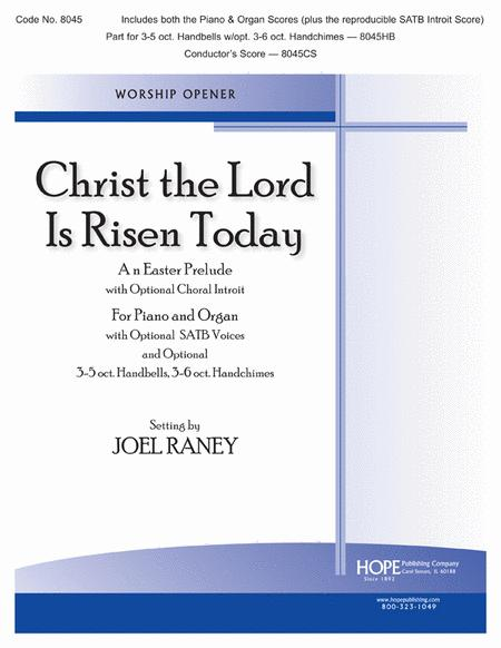 Christ The Lord Is Risen Today Sheet Music By Joel Raney Sheet