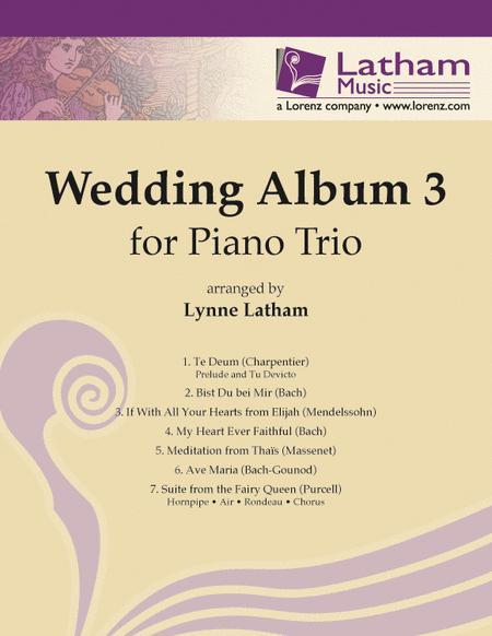 Wedding Album 3 for Piano Trio