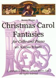 Christmas Carol Fantasies - Cello