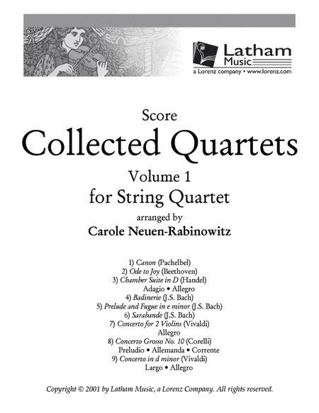 Collected Quartets Volume 1 - Score