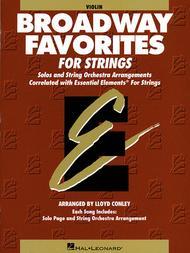 Broadway Favorites for Strings - Violin 1/2