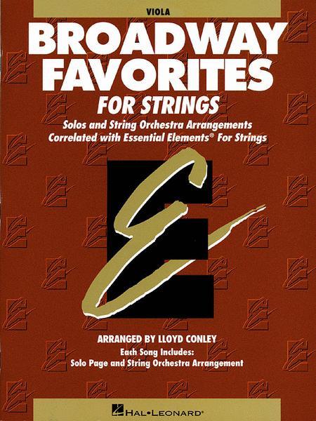 Broadway Favorites For Strings - Viola