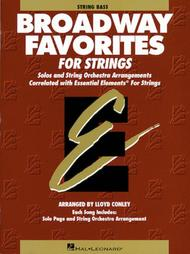 Broadway Favorites For Strings - String Bass