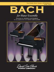 Bach for Piano Ensemble