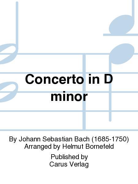 Concerto in D minor (Konzert in d)