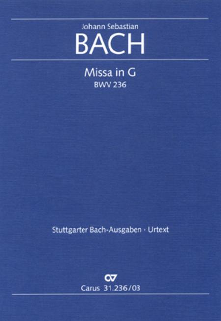 Mass in G Major, BWV 236