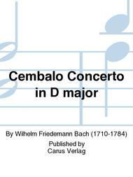 Concerto per il Cembalo in D