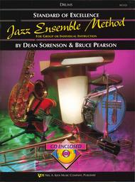 Standard of Excellence Jazz Ensemble Book 1, Drums