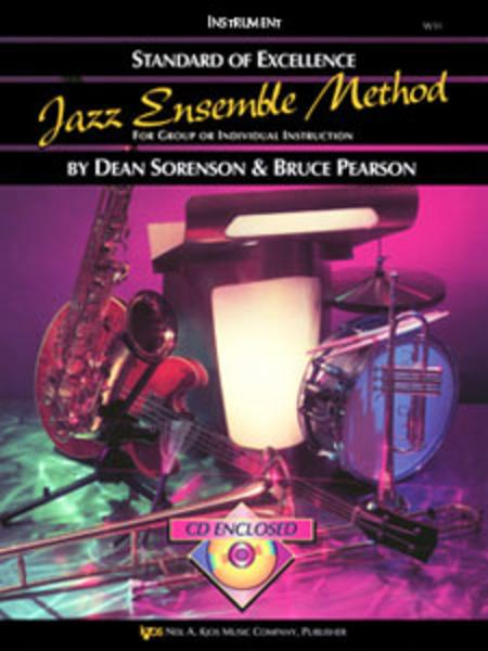 Standard of Excellence Jazz Ensemble Book 1, 3rd Trombone