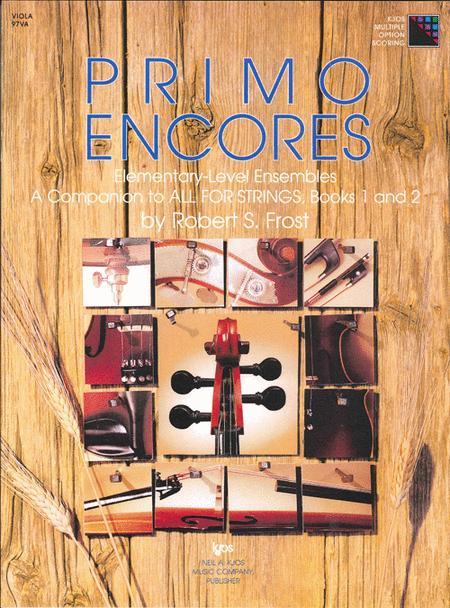 Primo Encores - Viola