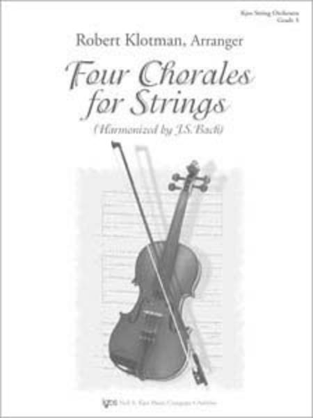 Four Chorales For Strings-Score