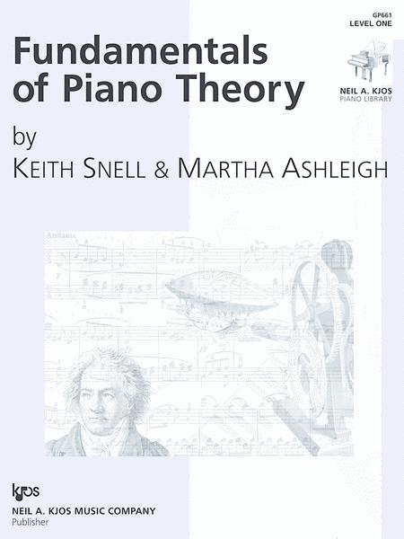 Fundamentals of Piano Theory - Level One