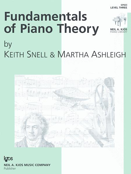 Fundamentals of Piano Theory - Level Three