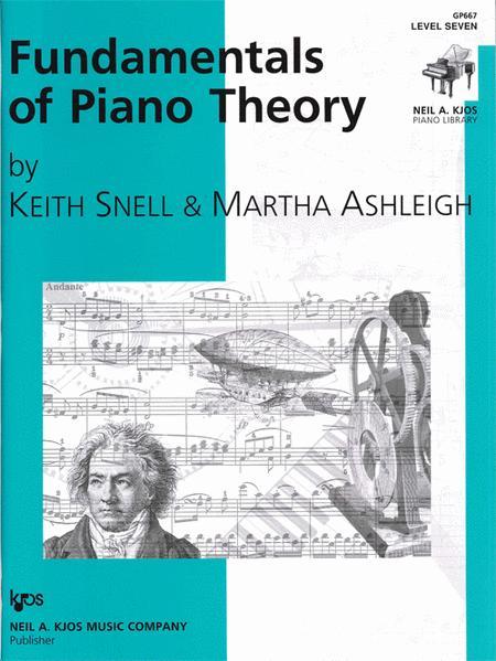 Fundamentals of Piano Theory - Level Seven