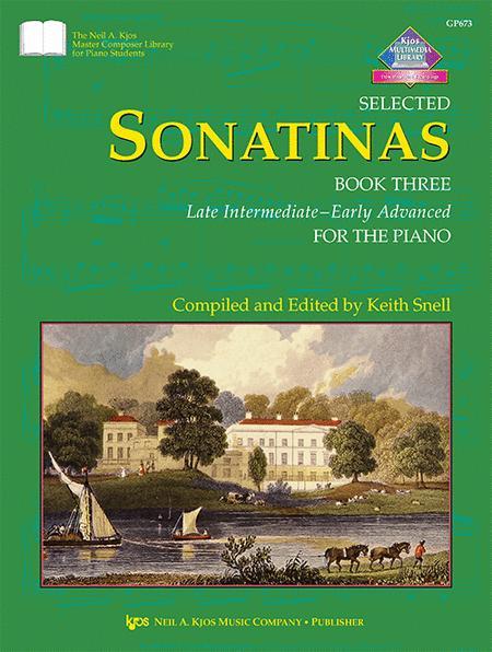 Selected Sonatinas, Book 3