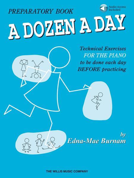 A Dozen a Day Preparatory Book - Book/Audio