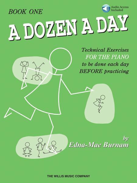 A Dozen a Day Book 1 - Book/Audio