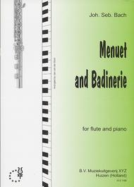 Menuet and Badinerie